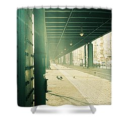 Under The Elevated Railway Shower Curtain