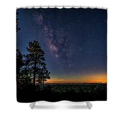 Shower Curtain featuring the photograph Under The Milky Way  by Saija Lehtonen