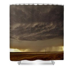 Shower Curtain featuring the photograph Under The Mothership by Ed Sweeney
