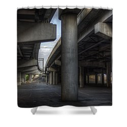 Under The Overpass I Shower Curtain