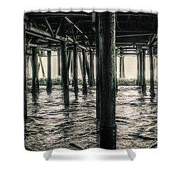 Under The Pier 3 Shower Curtain
