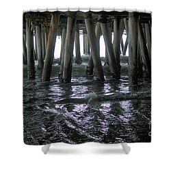 Under The Pier 4 Shower Curtain