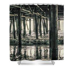 Under The Pier 5 Shower Curtain