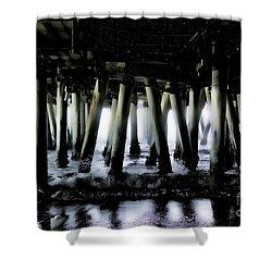Under The Pier 6 Shower Curtain