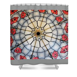 Under The Poppies Shower Curtain