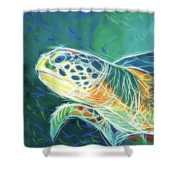 Under The Sea Shower Curtain by Angela Treat Lyon