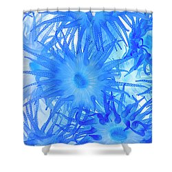 Shower Curtain featuring the photograph Under The Sea Colorful Watercolor Art #14 by Debra and Dave Vanderlaan