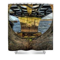 Under The Slipway Shower Curtain