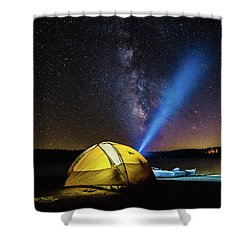 Under The Stars Shower Curtain