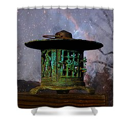Under The Stars Shower Curtain by Susan Vineyard