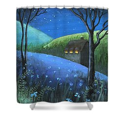 Under The Stars Shower Curtain by Terry Webb Harshman