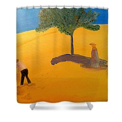 Under The Tuscan Sun Shower Curtain