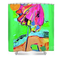 Under The Umbrella No. 3 Shower Curtain