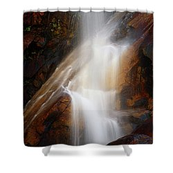 Under The Vaille Shower Curtain by Rick Furmanek