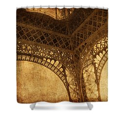 Under Tower Shower Curtain by Andrew Paranavitana