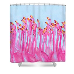 Underdressed Shower Curtain by Jane Schnetlage