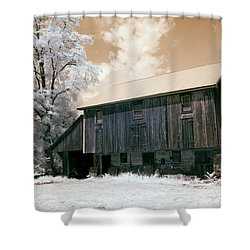 Underground Railroad Slave Hideout Shower Curtain