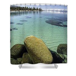 Underwater Art Shower Curtain