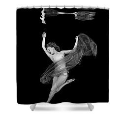 Underwater Beauty 001 Shower Curtain