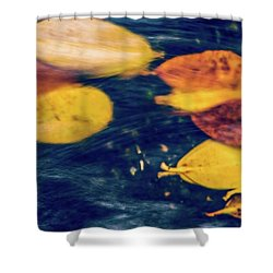 Underwater Colors Shower Curtain