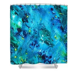 Underwater Forest Shower Curtain
