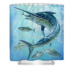 Underwater Hunting Shower Curtain