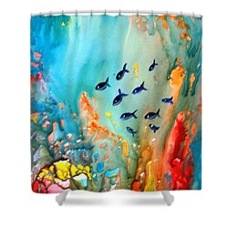 Underwater Magic Shower Curtain