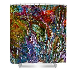 Underwater Seascape Shower Curtain by Claire Bull