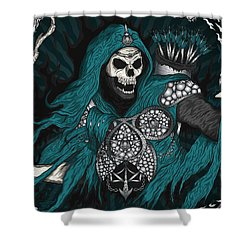 Underworld Archer Of Death Shower Curtain