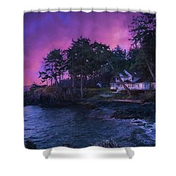 Undreamed Shores - Chesapeake Art Shower Curtain
