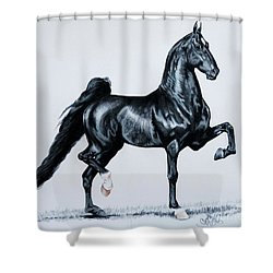 Undulata's Made In Heaven  Shower Curtain