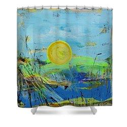 Une Journee Magnifique Shower Curtain