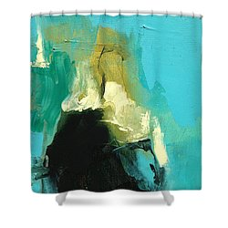 Unearthed Fire Shower Curtain
