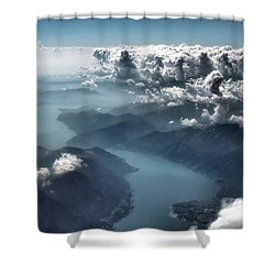 Cloud's Illusions Shower Curtain