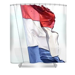 Unfurl 02 Shower Curtain