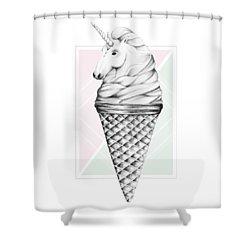 Unicone Shower Curtain