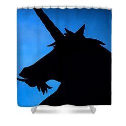 Shower Curtain featuring the photograph Unicorn by Craig B