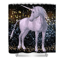 Unicorn Dust Shower Curtain