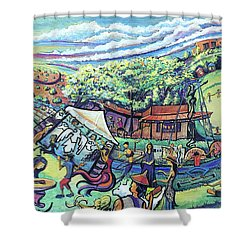 Unify Fest 2017 Shower Curtain