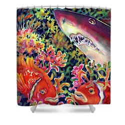 Uninvited Guest Shower Curtain