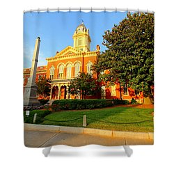 Union County Court House 10 Shower Curtain