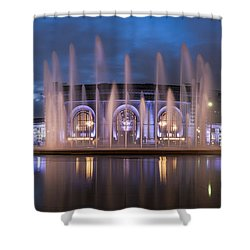 Union Fountain Shower Curtain