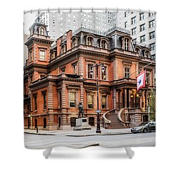 Union League Shower Curtain