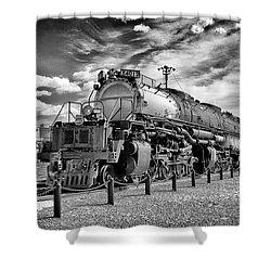Union Pacific 4-8-8-4 Big Boy Shower Curtain