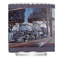 Union Pacific Big Boy Shower Curtain