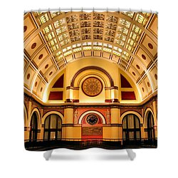 Union Station Balcony Shower Curtain