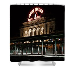 Union Station Denver Colorado Shower Curtain