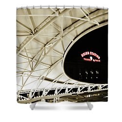 Shower Curtain featuring the photograph Union Station Denver by Marilyn Hunt