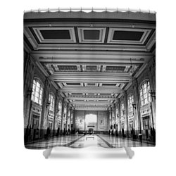Union Station Perspective Shower Curtain