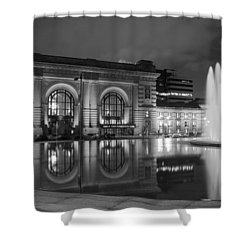 Union Station Reflections Shower Curtain